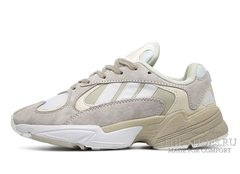 Кроссовки Adidas YUNG 1 White Begie