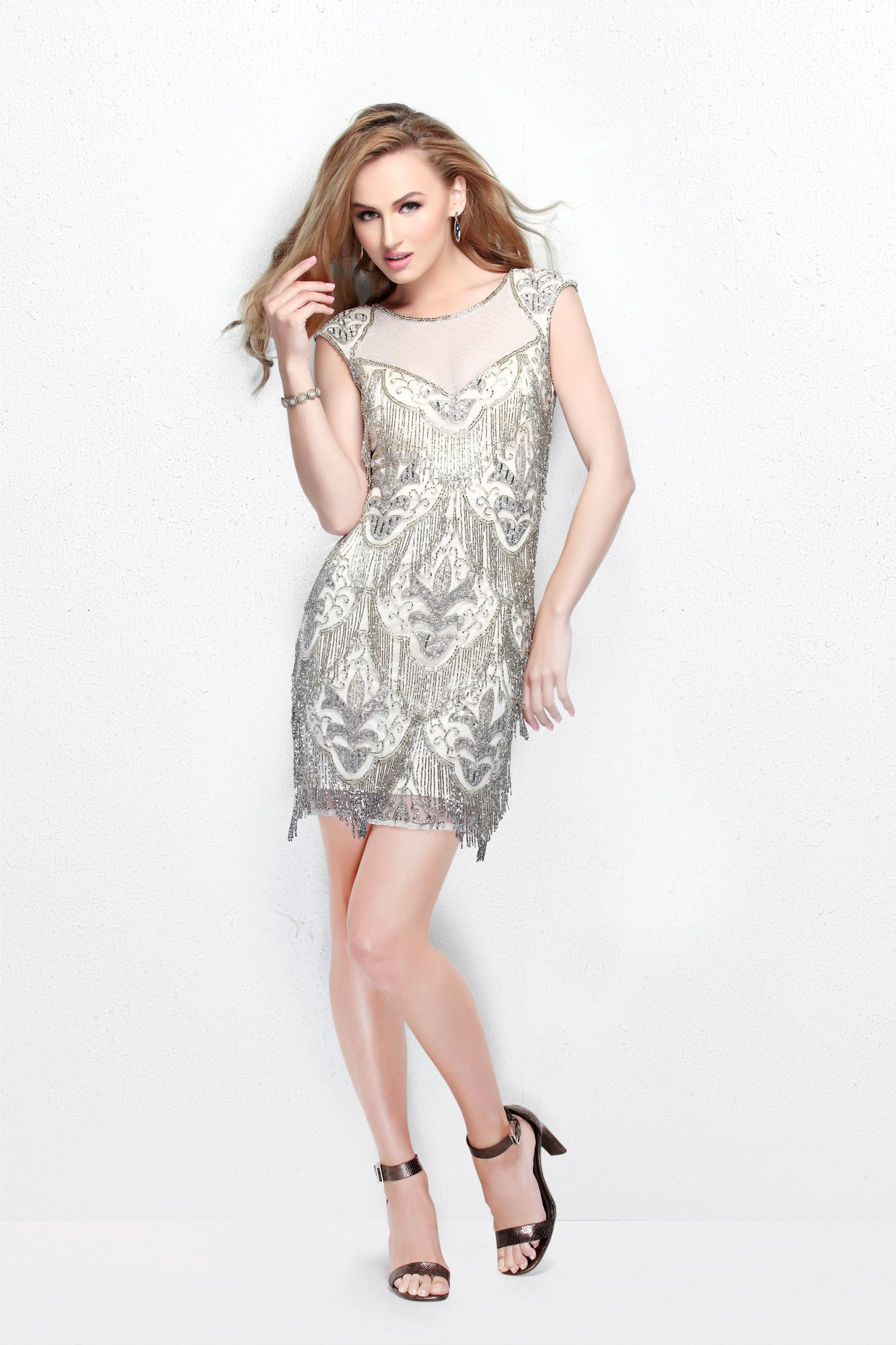 Короткое платье Darina 16528