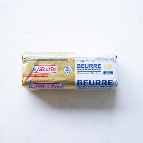 Масло сливочное натуральное несоленое ролл 82% Elle&Vire, фольга, 500 гр