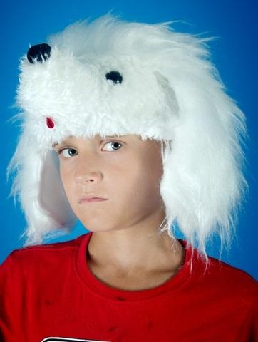 Карнавальная шапочка Пудель