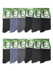 A831 Бамбук носки мужские 42-48 (12 шт.) цветные