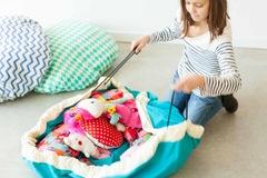 Мешок для игрушек Play&Go Classic БИРЮЗОВЫЙ 79954