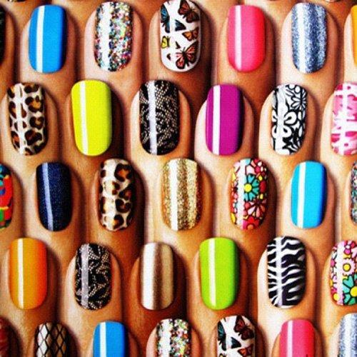 Создайте неповторимый дизайн ногтей