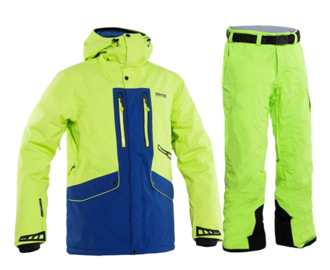 Горнолыжный костюм мужской 8848 Altitude Ledge/Base 67 (lime)