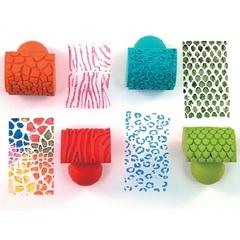 Резиновые штампы-качалки