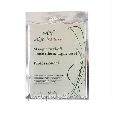 Algo Naturel Masque peel-off douce (teé & argile rose) - Альгинатная маска для чувствительной кожи