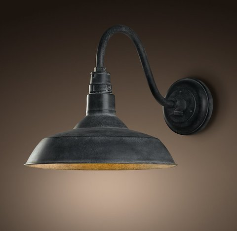 Vintage Barn Outdoor Sconce