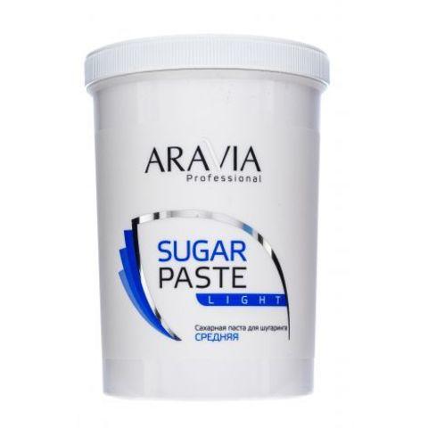 Паста сахарная Легкая средняя для депиляции 1500г Аравия