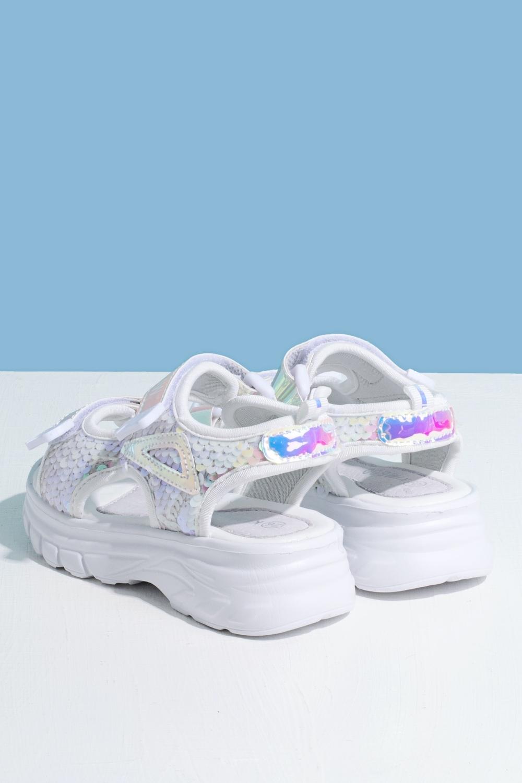 Босоножки белые для девочки 205-0044-1