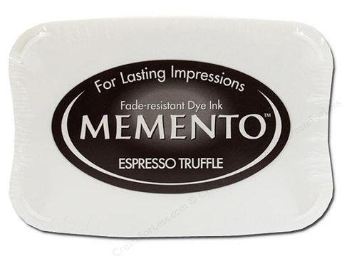Штемпельная подушечка MEMENTO - ESPRESSO TRUFFLE