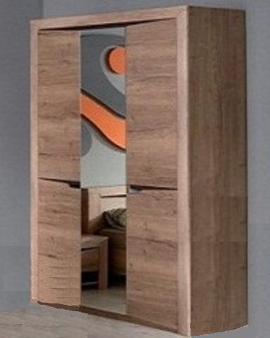 Шкаф 3-х дверный ГАЛАКСИДИ