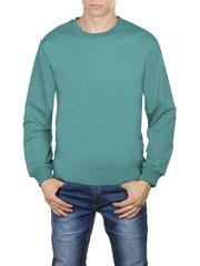 4054-9 футболка мужская дл. рукав, зеленая