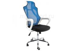 Компьютерное кресло Локал (Local) черное / голубое