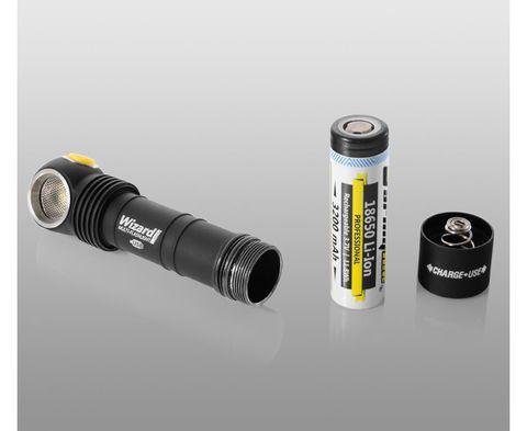 Мультифонарь ARMYTEK WIZARD PRO V3 MAGNET USB XHP50 Холодный