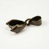 Держатель кулона - петелька 15х8х5 мм (цвет - античная бронза)