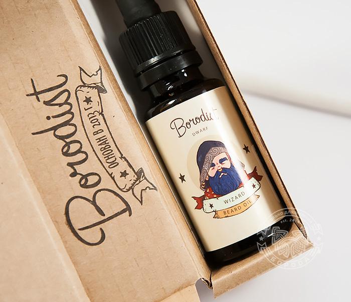 RAZ214 Масло для бороды «BORODIST WIZARD» с экстрактом крапивы и алое-вера (20 мл) фото 02