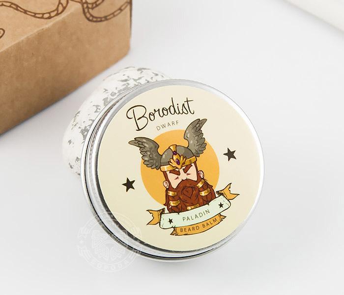 RAZ237 Бальзам для ухода за бородой «Paladin» от Borodist (30 гр)