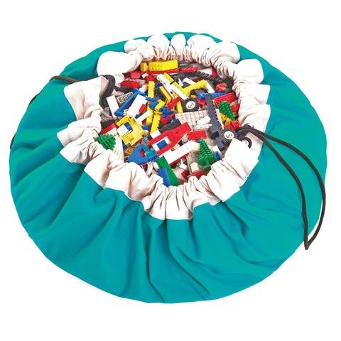 Коврик-мешок для игрушек (2 в 1) Play&Go Classic БИРЮЗОВЫЙ 79954