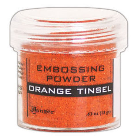 Пудра для эмбоссинга Ranger Ink- ORANGE TINSEL