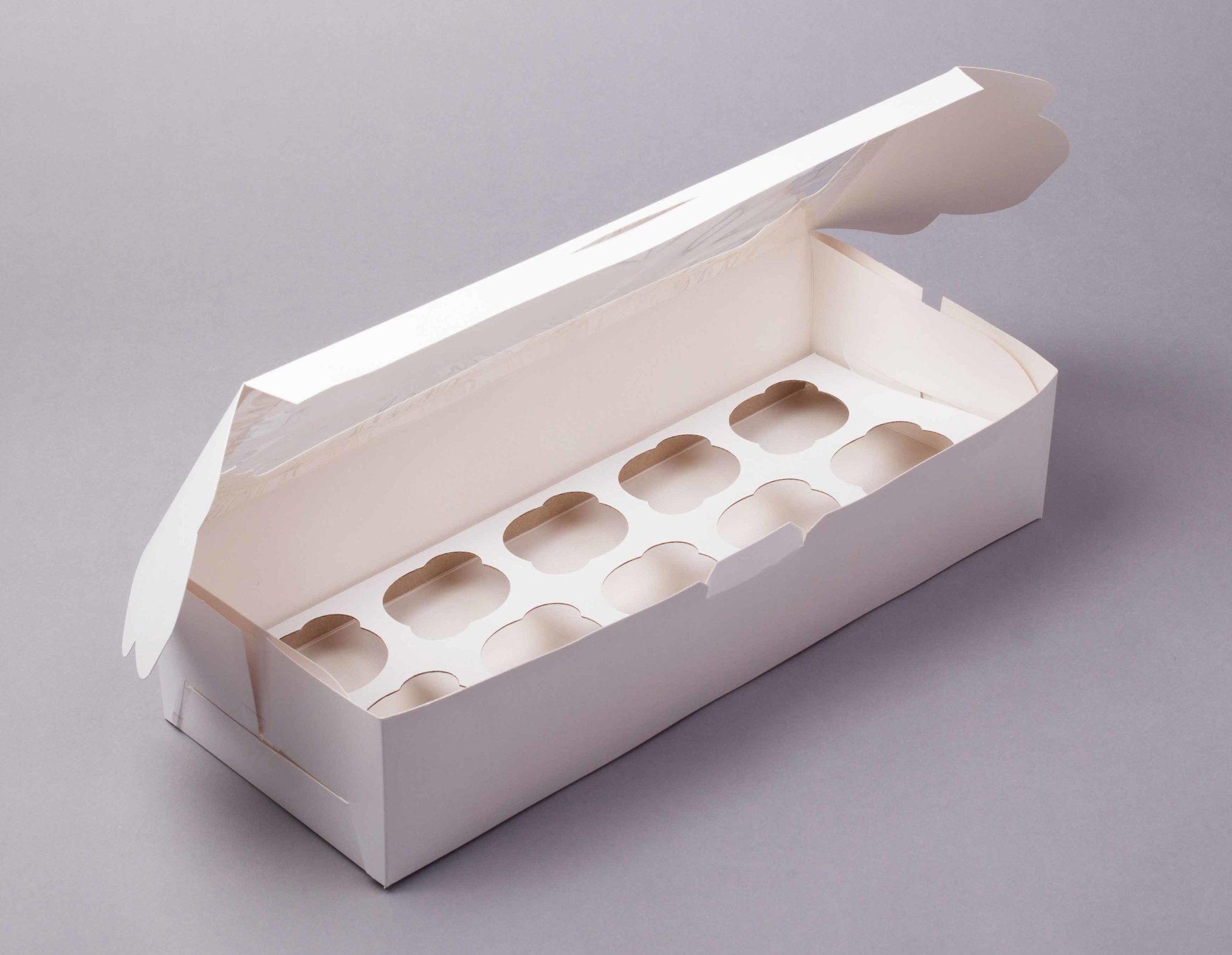 Коробка на 10 капкейков