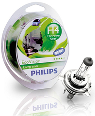Галогенные лампы Philips H4 Eco Vision +10% (2шт.)