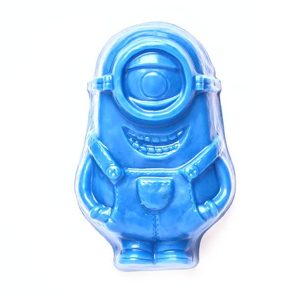 Пластиковая форма для мыла с героями мультфильмов. Миньон