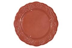 Тарелка обеденная Villa (красная) без инд.упаковки Matceramica