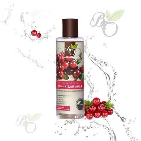 Тоник для лица «Для жирной и комбинированной кожи», Bliss organic 200 мл