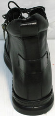 Кожаные сникерсы женские Evromoda 375-1019 SA Black