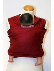 Слинг трикотажный MaM ECO One, до 18 кг, цвет 'Бордовый' (конопля 55%, органический хлопок 45%)