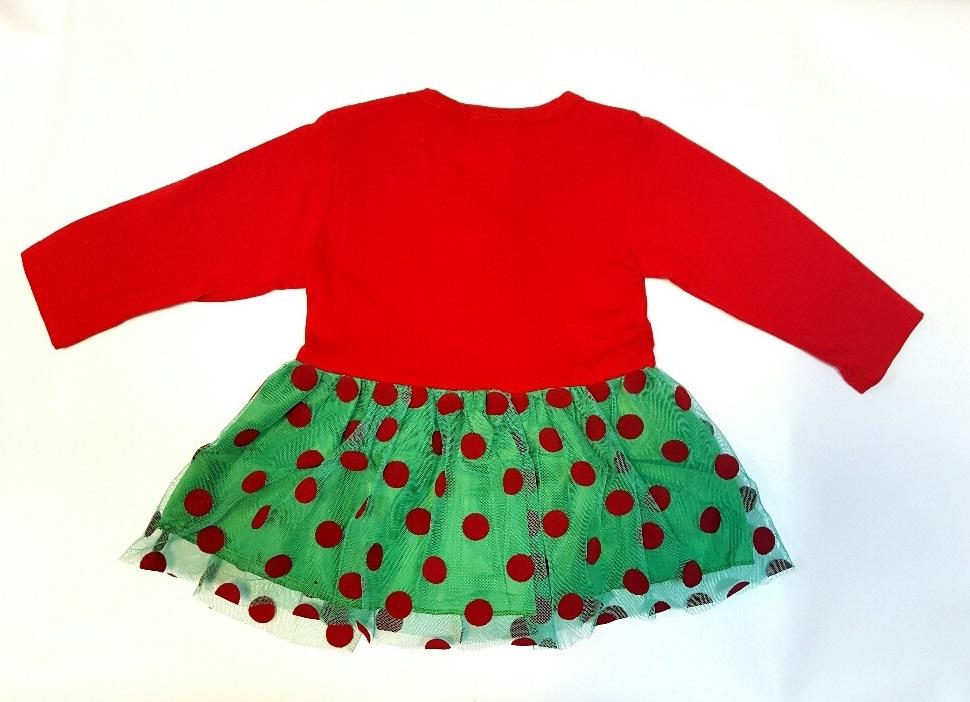 Платье детское новогоднее для девочки Елочка