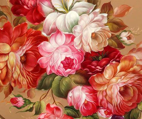 Цветочные гирлянды
