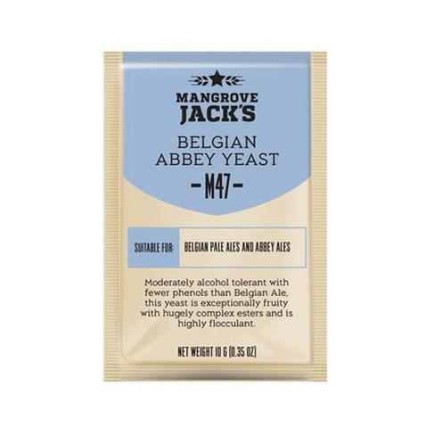 Дрожжи Belgian Abbey M47, 10 гр