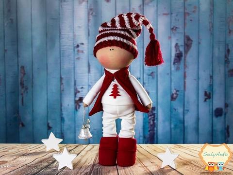 Кукла Адам из коллекции - Winter doll