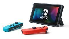 NS: Nintendo Switch (неоновый красный/неоновый синий, усиленная батарея)