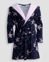 Детский женский халат E17K-44W101