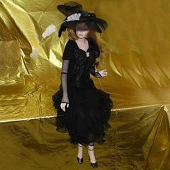 Кукла фарфоровая коллекционная Marigio Iris