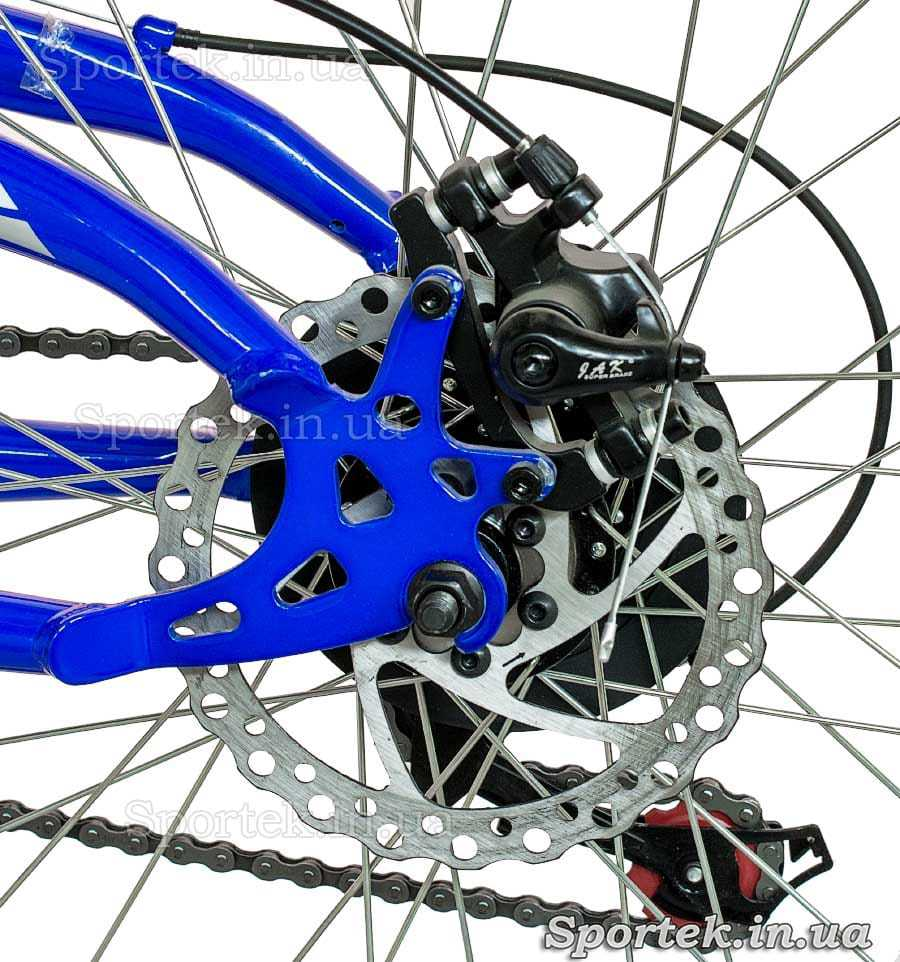 Задний дисковый тормоз горного универсального велосипеда Формула Родео (Formula Rodeo DD 2015)