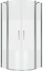 Душевое ограждение Good Door PANDORA R-100-T-CH 100х100 см