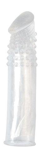 Насадка-удлинитель из прозрачного силикона LIDL EXTRA SILICONE PENIS EXTENSION