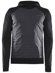 Элитная утепленная беговая куртка CRAFT Sub Zero Black 2020 мужская