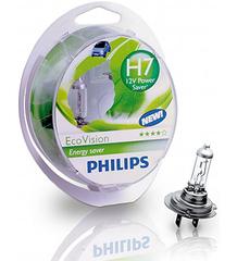 Галогенные лампы Philips H7 Eco Vision +10% (2шт.)