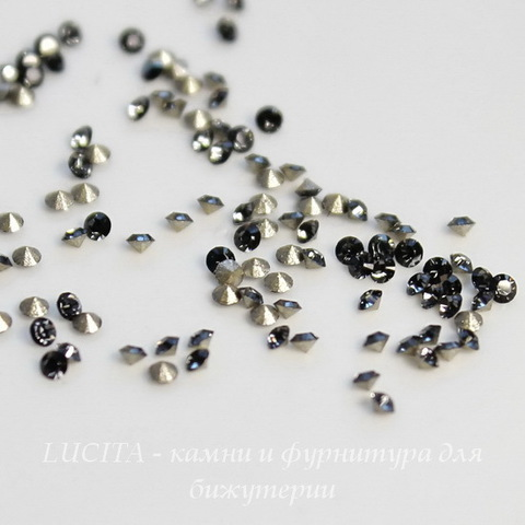 1028 Стразы Сваровски Crystal Silver Night PP 13 (1,9-2 мм), 10 штук (2)