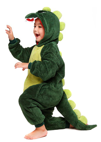 Кигуруми дракон зеленый