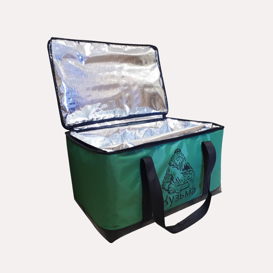 Сумка термос для теплообменника КУЗЬМА (зеленая)