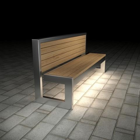 Sofa PARK with lights
