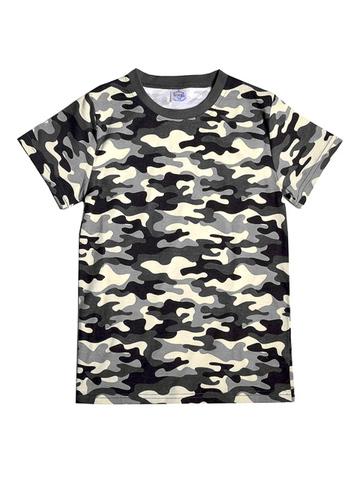 BK1291F-1 футболка для мальчиков, камуфляж серый