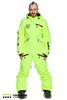 Мужской сноубордический комбинезон Cool Zone Acid 3627 салатовый