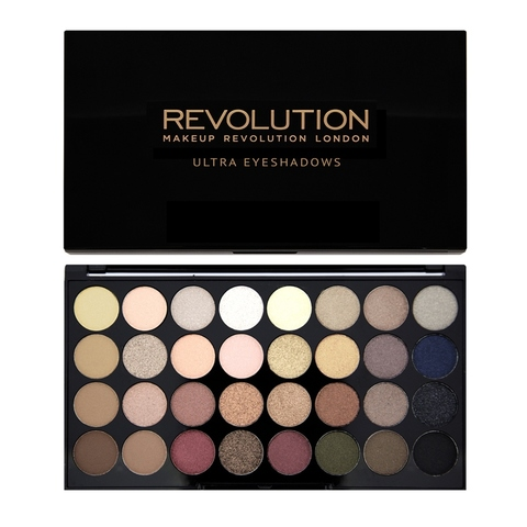 Палетка теней  MAKEUP REVOLUTION Ultra 32 Shade Eyeshadow Palette - Flawless