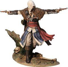 Ассассин Крид 4 фигурка Эдвард Кенуэй — Assassin's Creed IV Black Flag Edward Statue